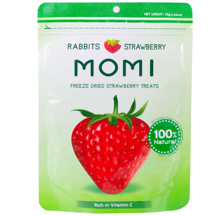 <b>10% OFF:</b> Momi Freeze Dried Strawberry Treats For Small Animals