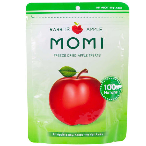 <b>10% OFF:</b> Momi Freeze Dried Apple Treats For Small Animals