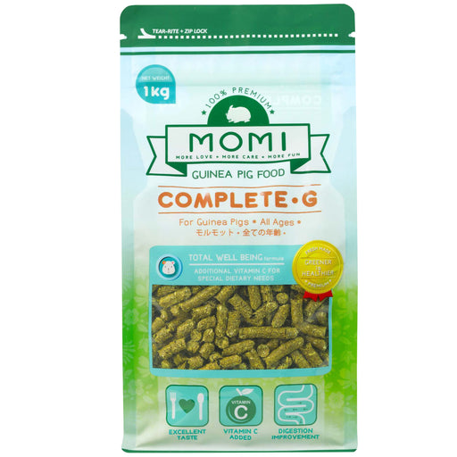 <b>10% OFF:</b> Momi Complete-G Pellets For Guinea Pig