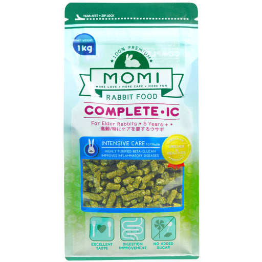 <b>10% OFF:</b> Momi Complete-IC Pellets For Elder Rabbit