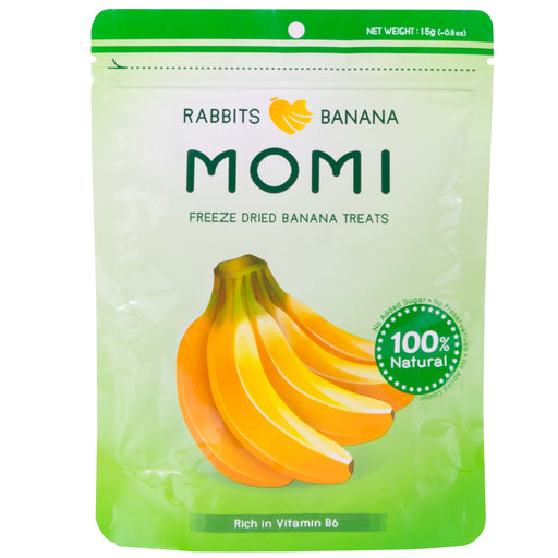 <b>10% OFF:</b> Momi Freeze Dried Banana Treats For Small Animals