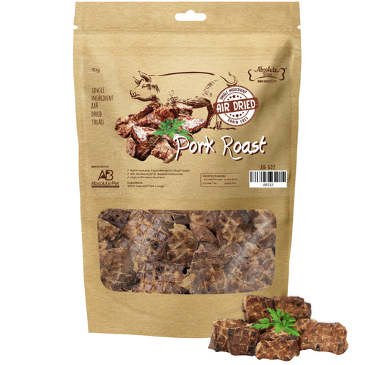 Absolute Bites Air Dried Pork Roast Treats