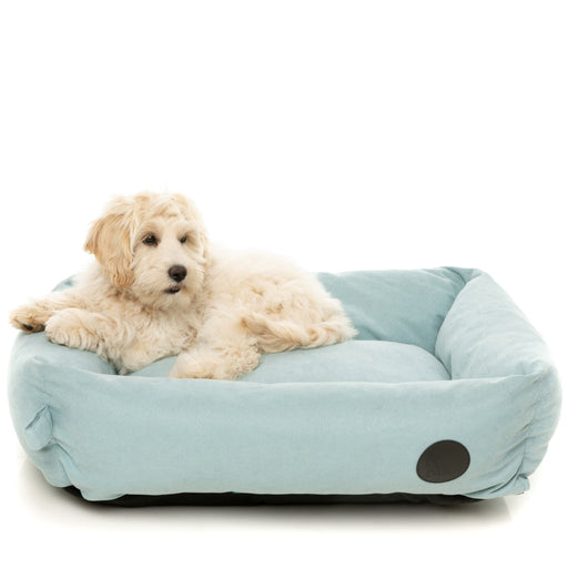 <b>15% OFF:</b> FuzzYard The Lounge Pet Bed In Powder Blue