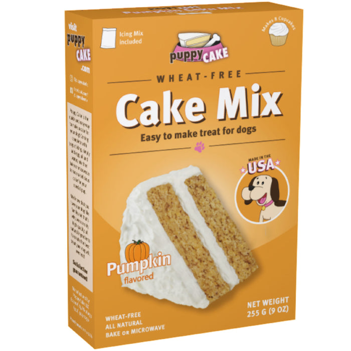 Puppy Cake Pumpkin (Wheat-Free) Cake Mix