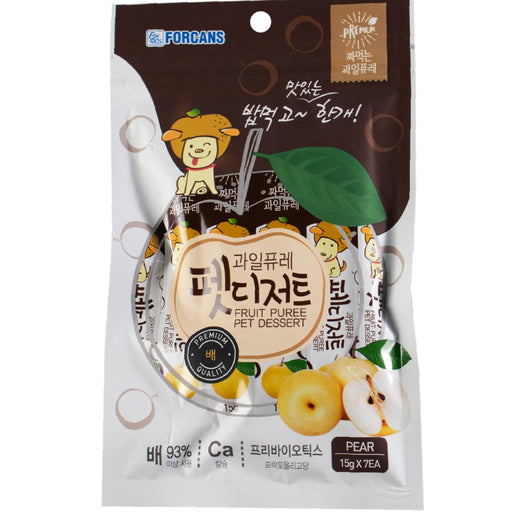 <b>10% OFF:</b> Forcans Fruit Puree Pear Creamy Treats For Dogs