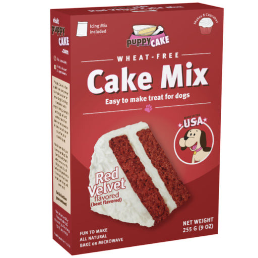 Puppy Cake Red Velvet (Wheat-Free) Cake Mix