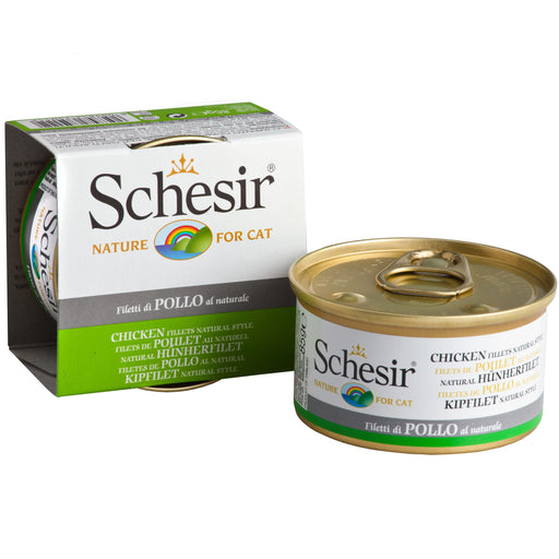 Schesir Chicken Fillet Natural Style Wet Cat Food