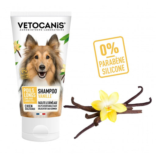 Vetocanis Vanilla Fragrance Shampoo For Long Hair Dogs