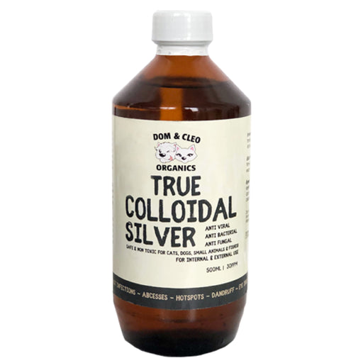 <b>10% OFF:</b> Dom & Cleo Organics Colloidal Sliver In Bottle