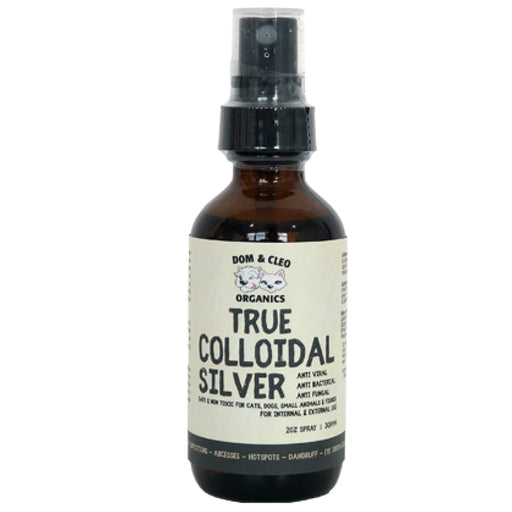 <b>10% OFF:</b> Dom & Cleo Organics Colloidal Sliver Spray