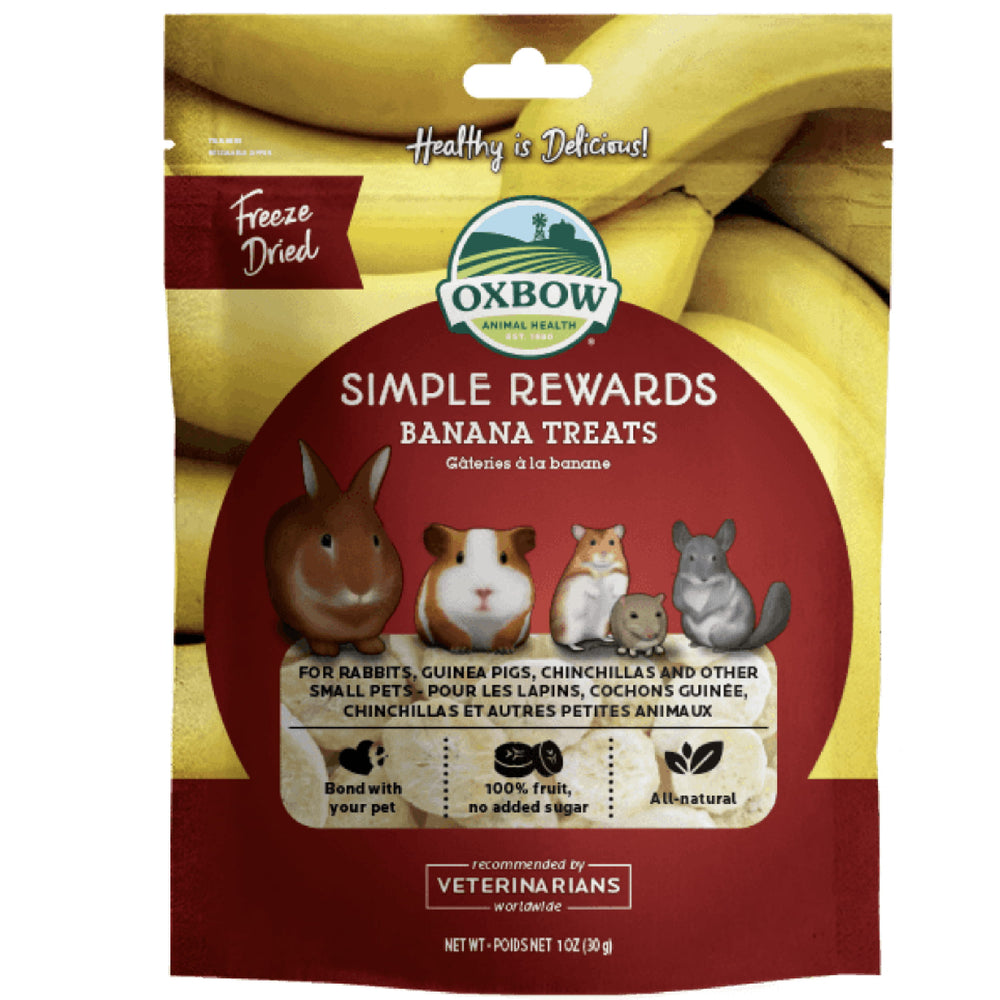 <b>5% OFF:</b> Oxbow Simple Rewards Banana Biscuits
