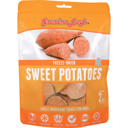 <b>10% OFF:</b> Grandma Lucy's Freeze Dried Sweet Potato Dog Treats