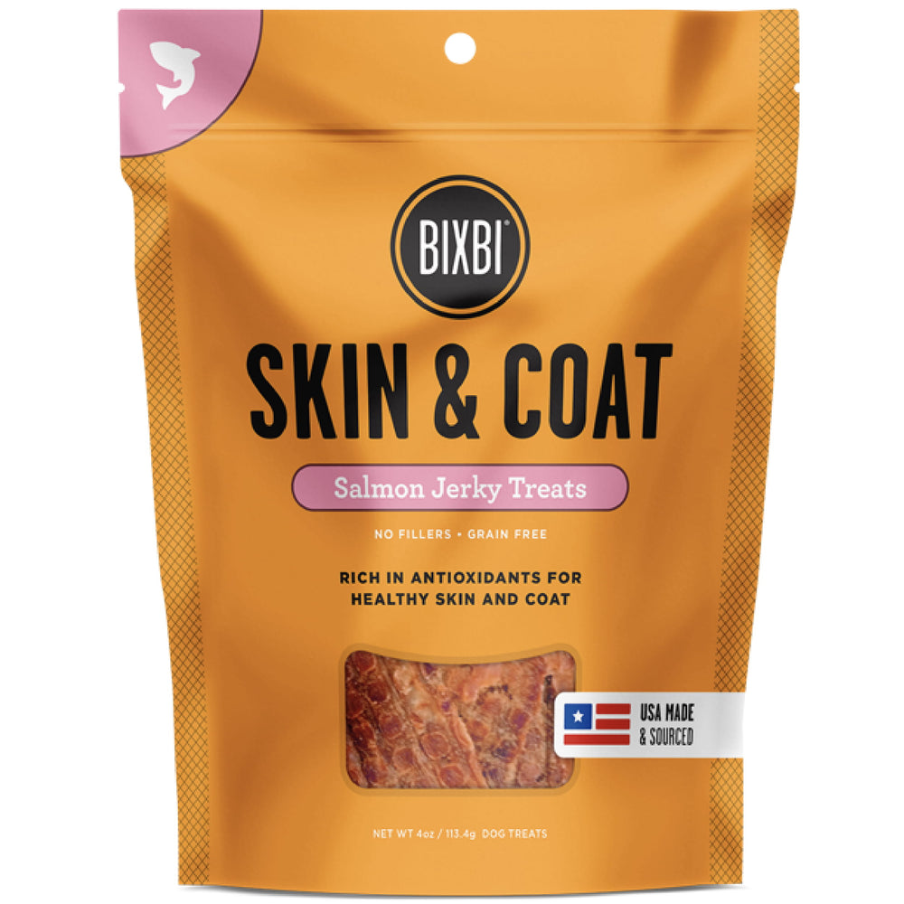[PAWSOME] <b>15% OFF:</b> Bixbi Skin & Coat Grain Free Dehydrated Salmon Recipe Jerky Dog Treats