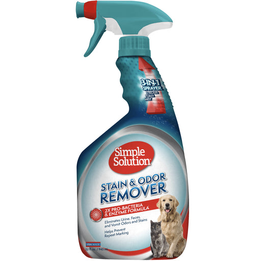 [PAWSOME DEAL] <b>33% OFF:</b> Simple Solution Stain & Odour Remover For Dogs & Cats