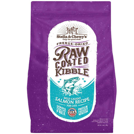 <b>15% OFF:</b> Stella & Chewy's Raw Coated Wild-Caught Salmon Recipe Dry Cat Food