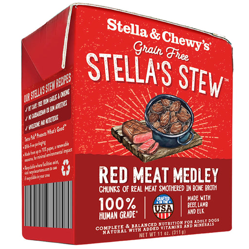 Stella & Chewy's Grain Free Red Meat Stew Recipe For Dogs