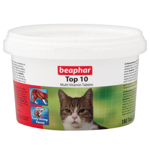 <b>10% OFF:</b> Beaphar Multi Vitamin Tablets Top 10 For Cats
