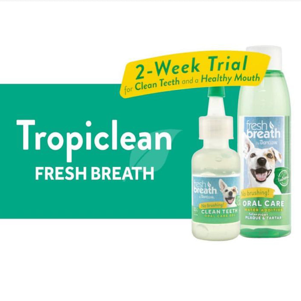 [GIFT WITH PURCHASE] Tropiclean Fresh Breath Trial Set