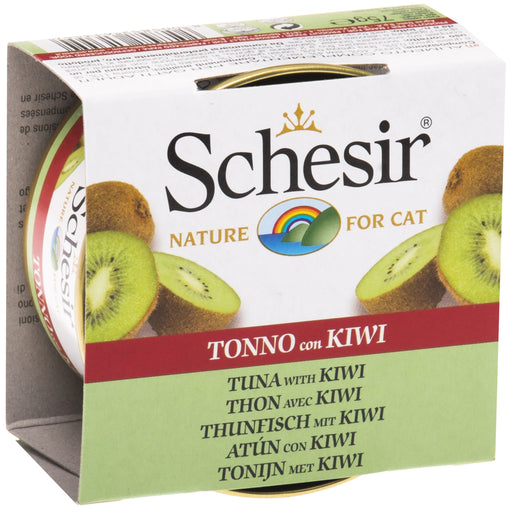 Schesir Chicken Tuna & Kiwi Wet Cat Food