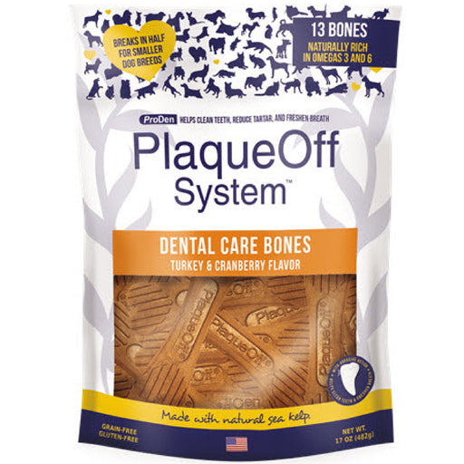 <b>10% OFF:</b> SwedenCare ProDen PlaqueOff® Turkey Dental Bones