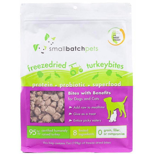 <b>20% OFF:</b> Small Batch Freeze Dried Turkey Bites