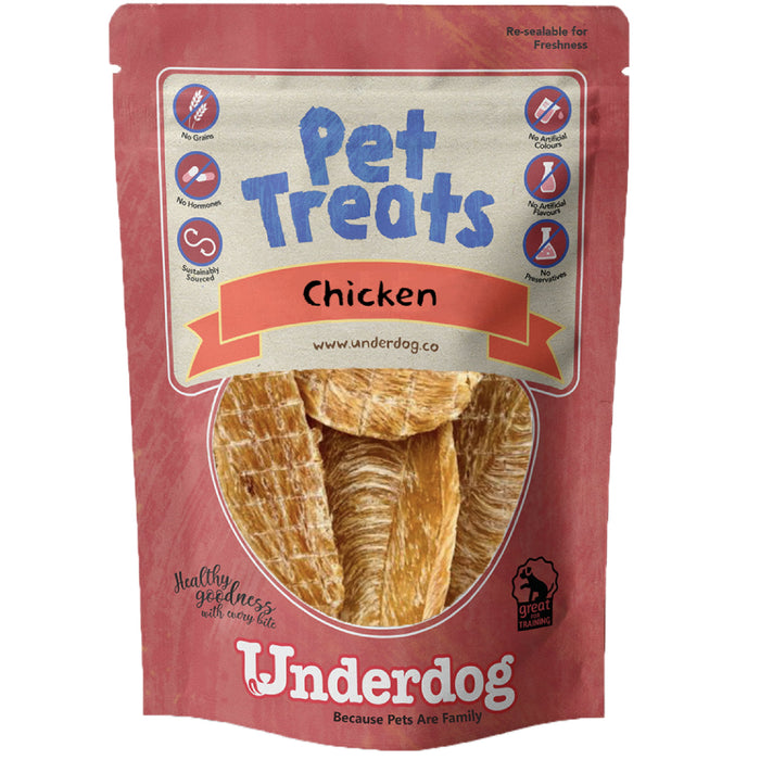 Underdog Chicken Jerky For Dogs