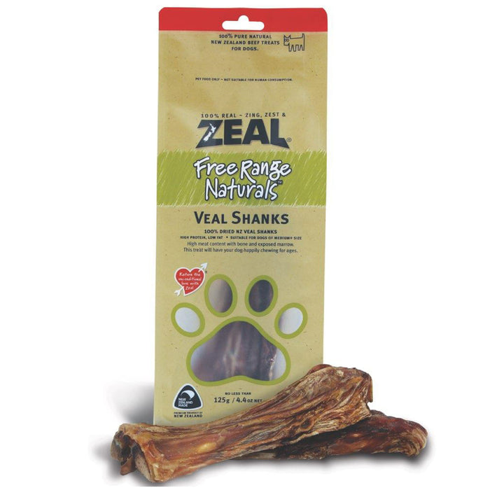 Zeal Free Range Naturals Veal Shanks For Dogs