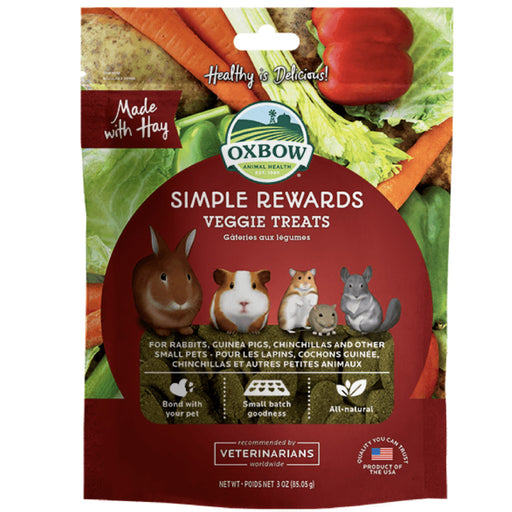 <b>5% OFF:</b> Oxbow Simple Rewards Veggies Biscuits