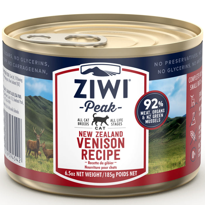 [PAWSOME] <b>20% OFF:</b> Ziwi Peak Venison Recipe Wet Cat Food