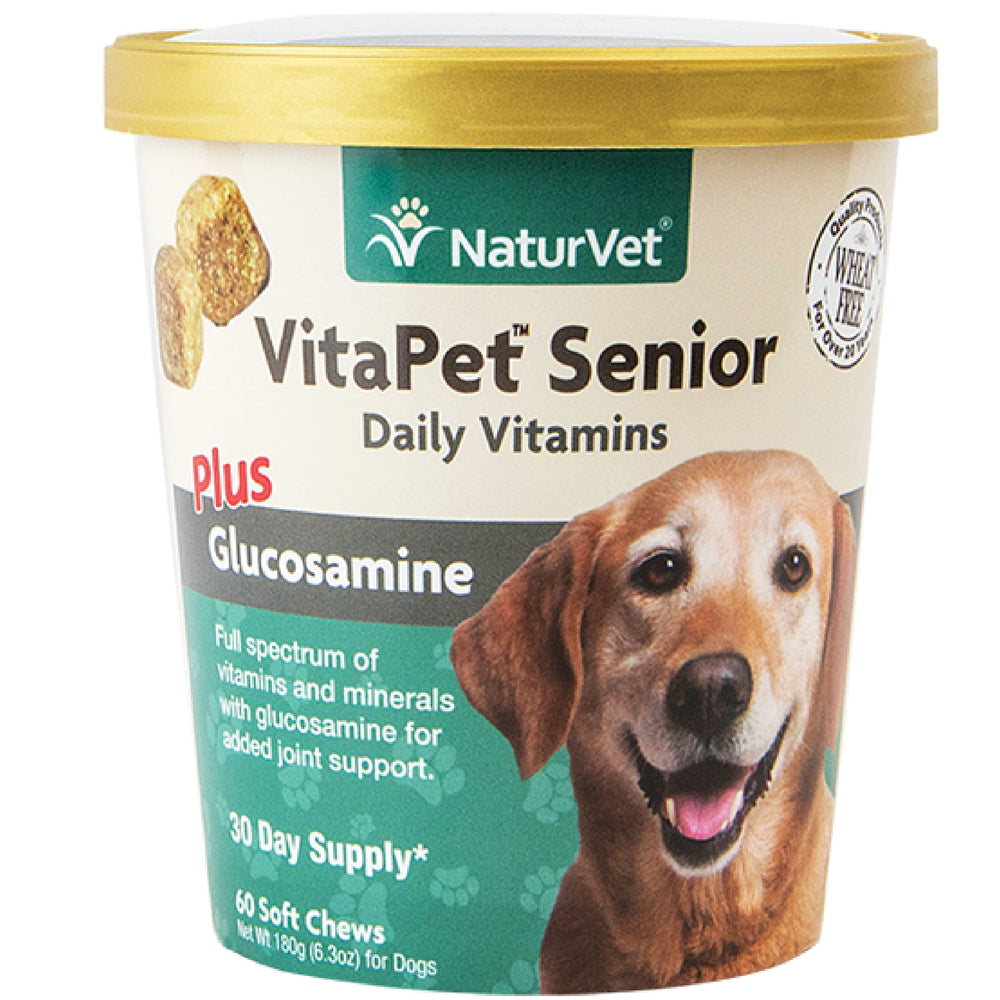 <b>20% OFF:</b> NaturVet VitaPet™ Senior Daily Vitamins Soft Chews