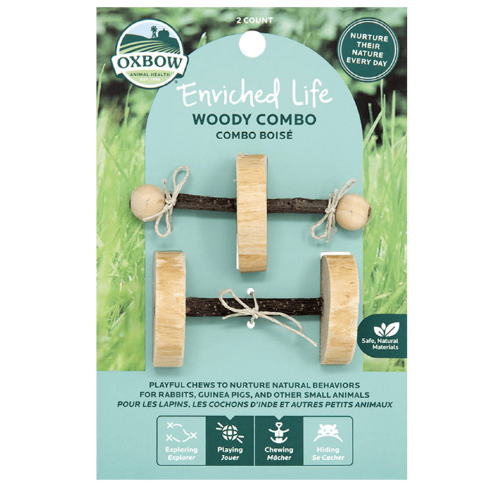 <b>20% OFF:</b> Oxbow Enriched Life Natural Chews Woody Combo