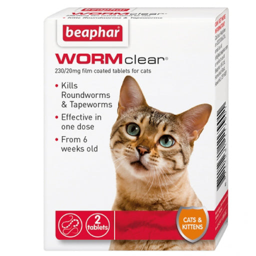 <b>10% OFF:</b> Beaphar Beaphar WORMclear® Tablets for Cats