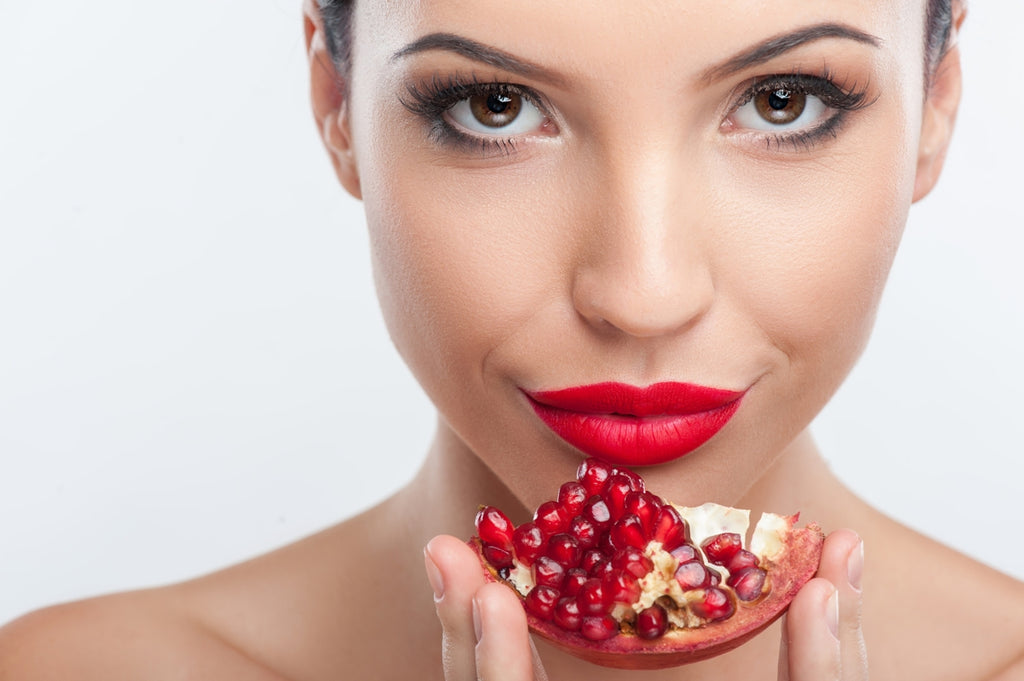 Rejuvenate your skin with pomegranates
