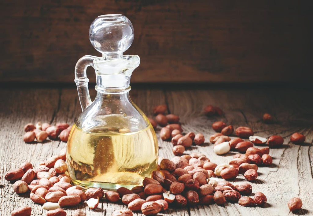 The benefits of the peanut oil for the skin