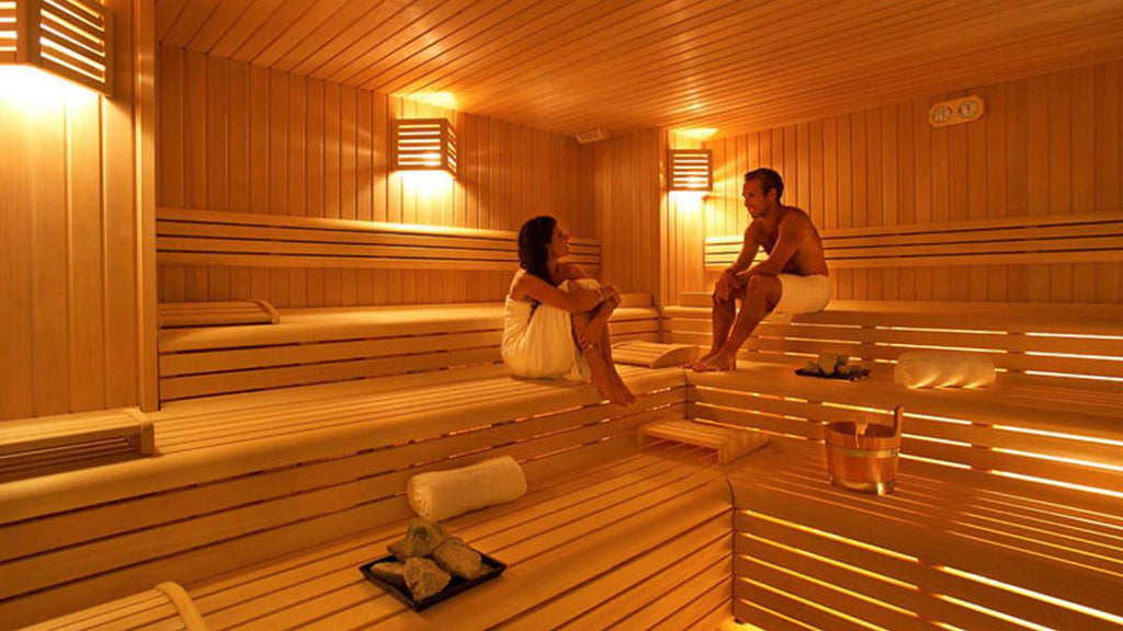 What are the benefits of the sauna for the skin?