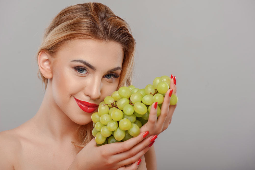 Use Grapes for a Wrinkle-free Skin