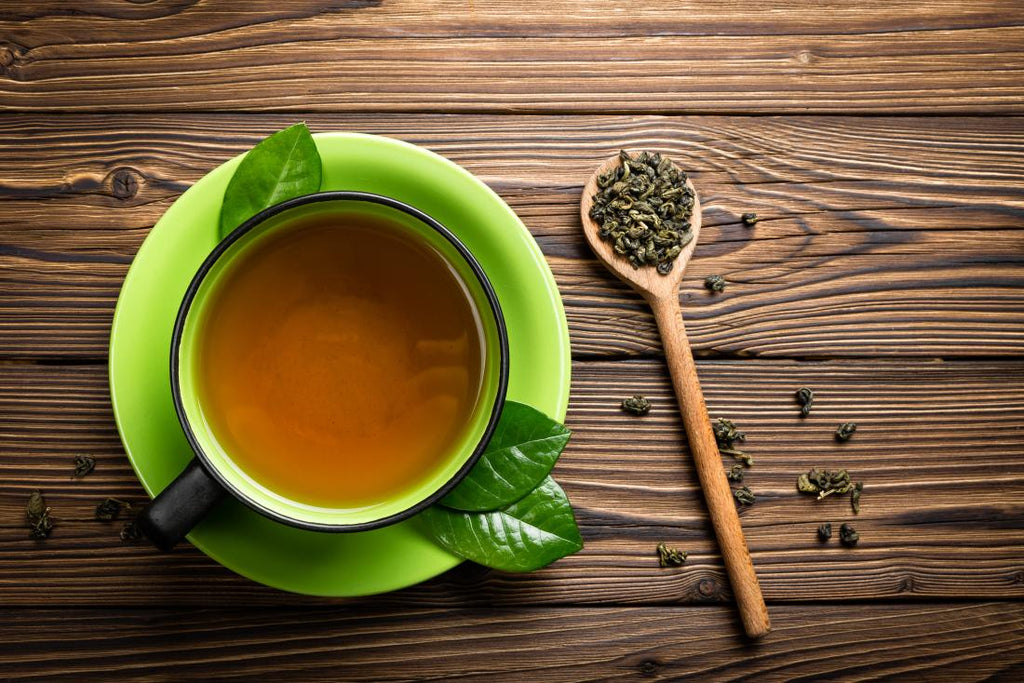 Green tea - a wonder herb for healthy glowing skin