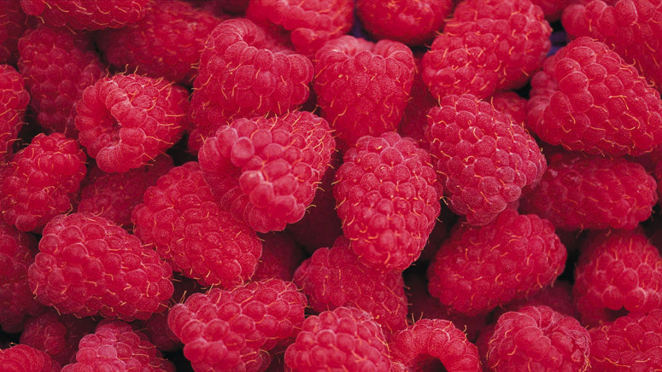 Homemade skin care based on raspberries