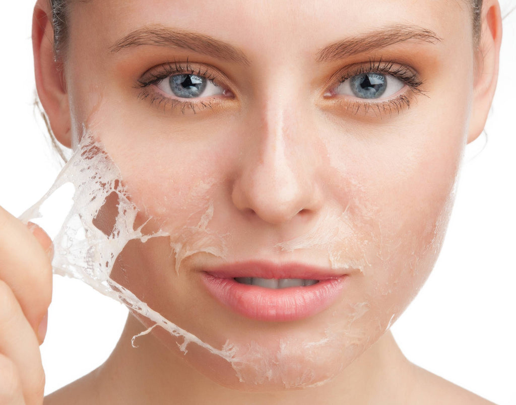 Chemical peels for deep skin cleansing