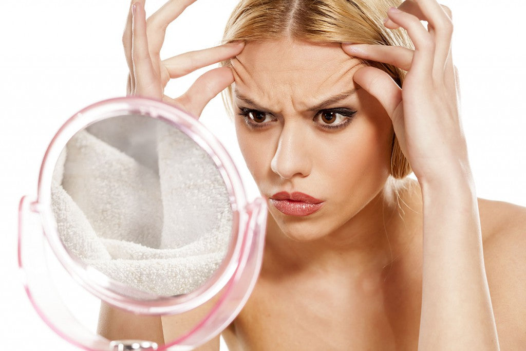 Are you getting stress acne and breakouts or premature wrinkles?