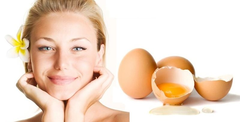 3 homemade egg white face masks to renew the skin's cells