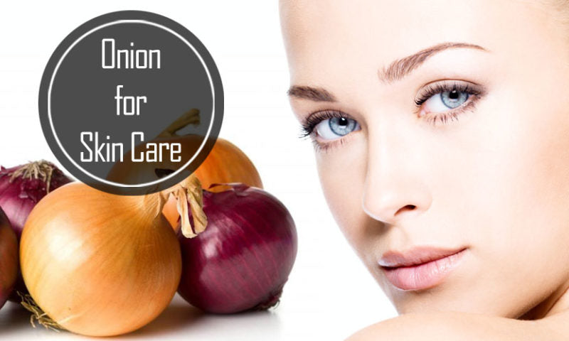 Onion - a marvelous vegetable with many skin benefits!