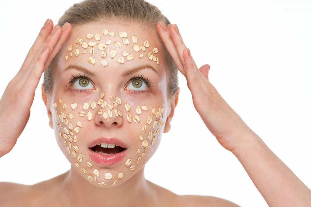 Boost your skins health with colloidal oatmeal