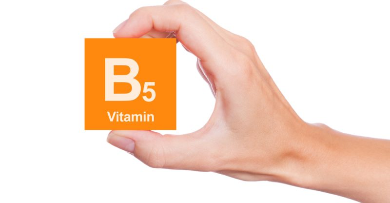 The benefits of the vitamin B5