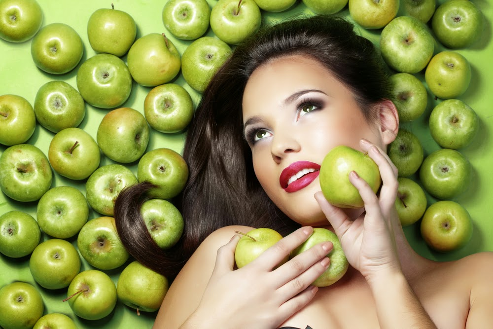 An Apple a day keeps the bad skin away!
