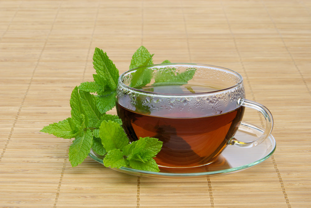 All of the mint tea benefits for the skin