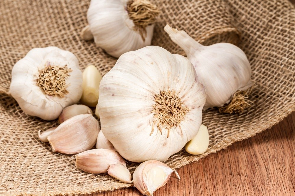 The benefits of the garlic for the skin