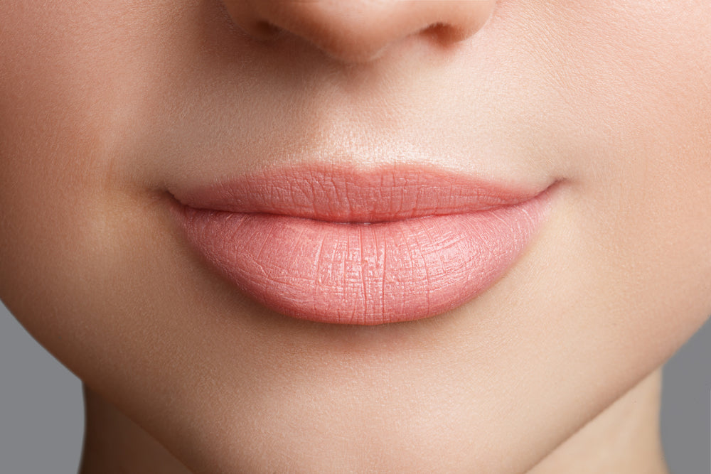 "Get rid of ""lip lines"" naturally!"