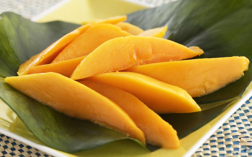 The benefits of the mango for the skin