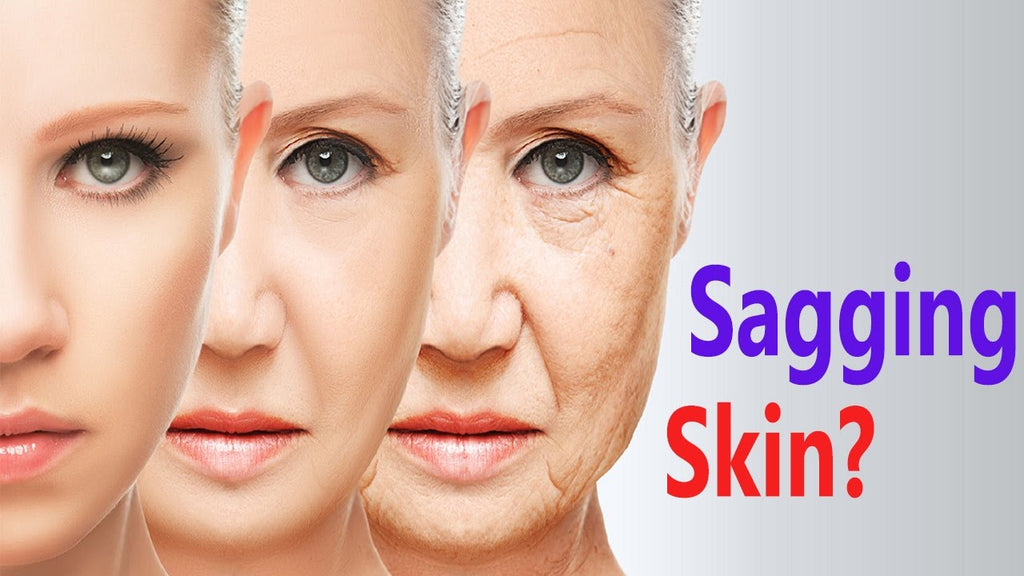How to deal with the sagging skin on your face?